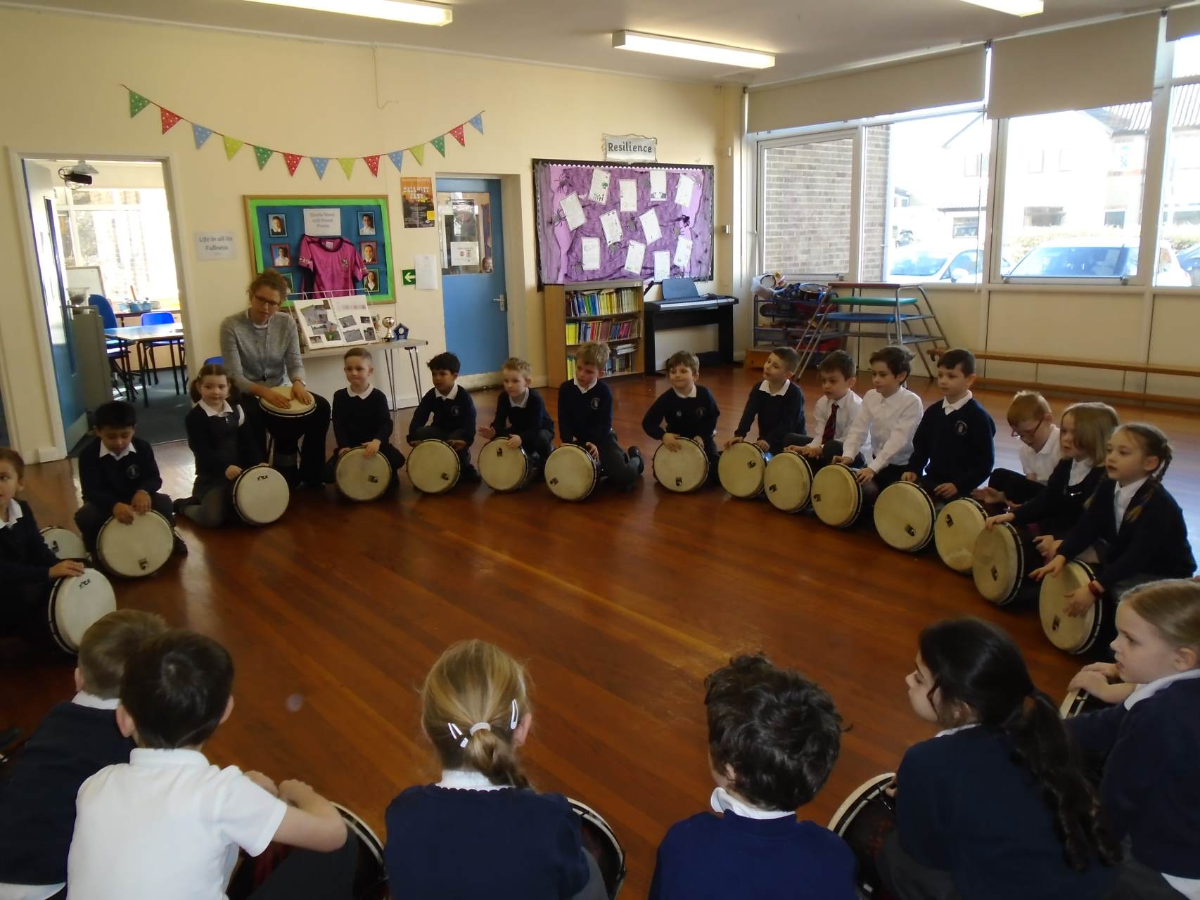 African Drumming!